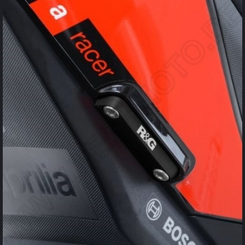 R&G rear footrest cover Aprilia V 4