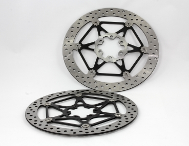 Front brake disc set right + left for Aprilia RSV4 and Tuono V4