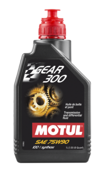 Transmission oil Motul Gear 75W90 for heavy duty wet clutch transmissions Aprilia SXV-RXV