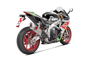 Akrapovic Slip On Titanium Aprilia RSV4 RR + RF and Tuono from 2017 EC