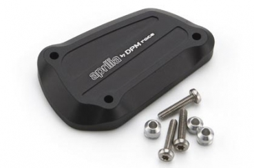 CNC milled aluminium cover for clutch pump Aprilia Shiver and Dorsoduro 750