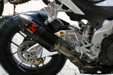 Aprilia Akrapovic Carbon Slip-On Damper incl. Race and BE Connecting Tube