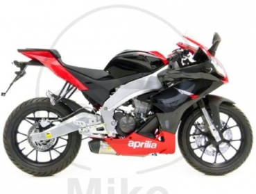 LeoVince exhaust slip-on for Aprilia RS4 125