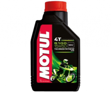 Engine oil Motul 15W50 partial synthesis