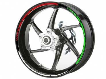 Sticker rim TRICOLORE