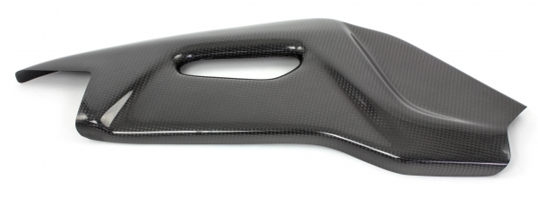 Carbon swingarm protection for Aprilia RSV4 and Tuono V4R