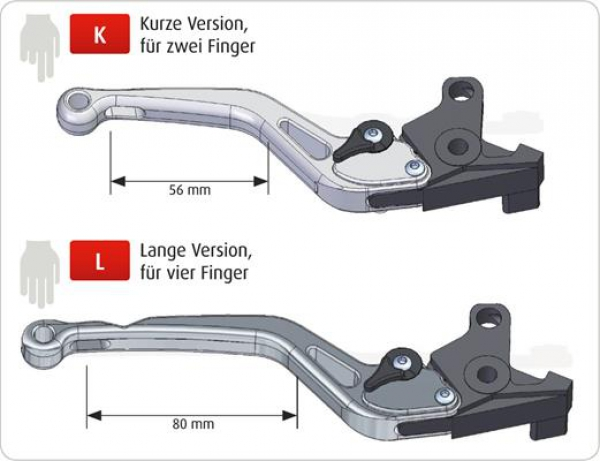 Clutch lever Synto for Aprilia RSV4 and Tuono V4