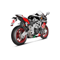 Akrapovic Racing Slip On Carbon Aprilia RSV4 RR + RF bis 2016