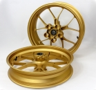 Forged rims set Aprilia Gold