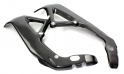 Complete carbon frame protector for Aprilia RSV4 and Tuono V4